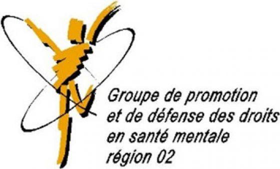 Groupe de promotion de la défense des droits en santé mentale région 02